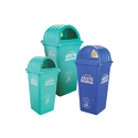 Arito Multicolor Side Open Dustbin 120 Ltr