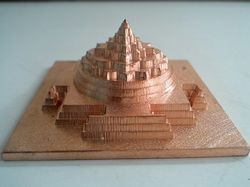 CNC Machine Cutting Meru Shree Yantra