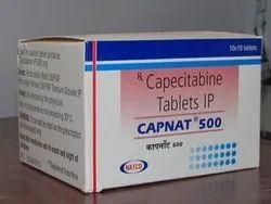 Capnat 500 Mg (Capecitabine Tablets)