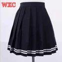 Baba Uniform Plain Girls School Skirts, Age Group: 4-18