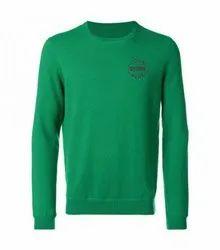 Lycra Cotton Casual Wear Mens Round Neck Sweater
