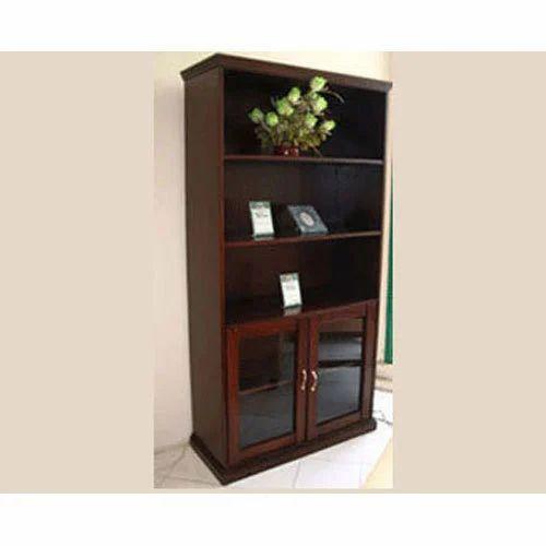 Dark Brown Berkley Bookshelf