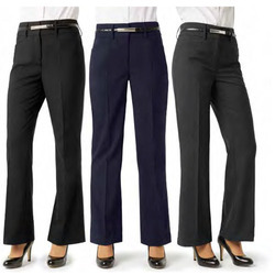 Women Plain Formal Trouser