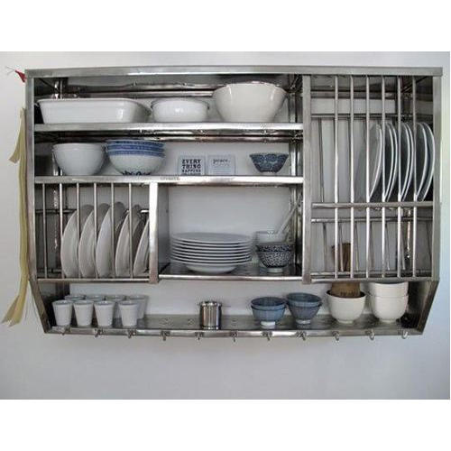 metal kitchen storage racks stainless steel kitchen rack at rs 12500 7468