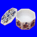 Round Marble Inlay Box
