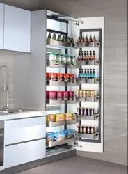 Apple Stainless Steel Tall Pantry Unit