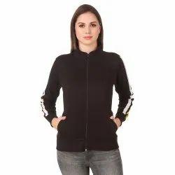 Full Sleeve Solid Women Sweatshirt
