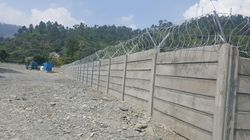 Pre-Stressed Boundary Wall