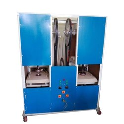 2 Dies Disposable Paper  Plate Making Machine
