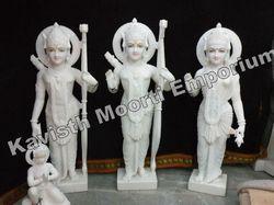 White Marble Ram Darbar Moorti