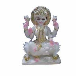 Polished Marble Laxmi Statue