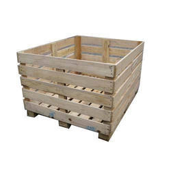 Natural High Quality Wooden Pallet Box