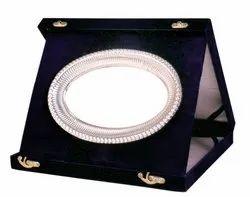 Oval Plate Velvet Box Trophy
