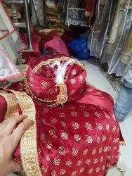 Wedding Wear Stitched Groom Safa, Size: Regular Free Size