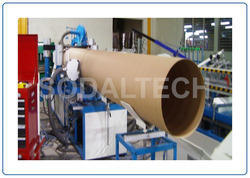 Ultra Heavy Duty Model Paper Core Making Machine