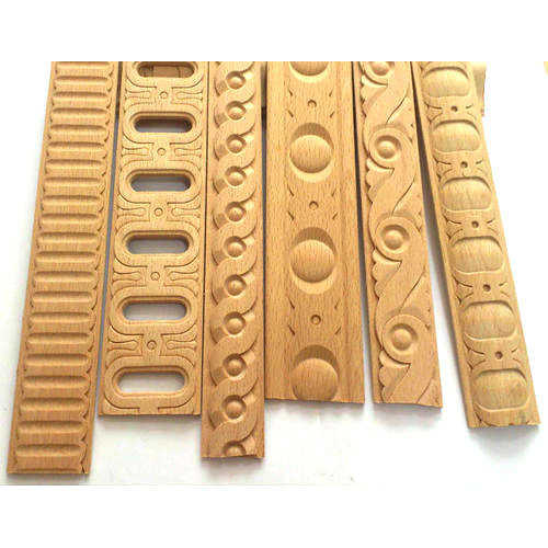 Decorative Carved Wooden Wall Molding at Rs 2.5 /running feet ...