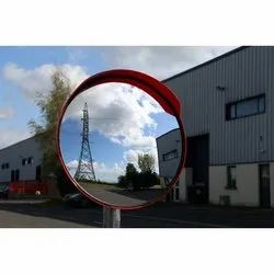 Polycarbonate Road Safety Convex Mirrors