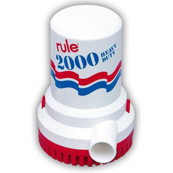 2000 GPH Rule Bilge Pump