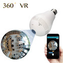 Newest Product 360 Degree Panoramic Security Wireless IP WiFi Hidden CCTV Light Bulb Camera