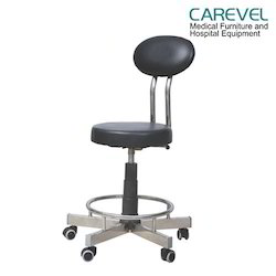Carevel Cushioned DX Surgeons Stool