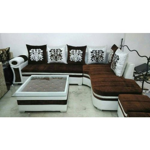 Peachy Designer L Shaped Sofa Set Theyellowbook Wood Chair Design Ideas Theyellowbookinfo