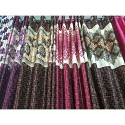 Fancy Printed Cotton Curtain, For Door