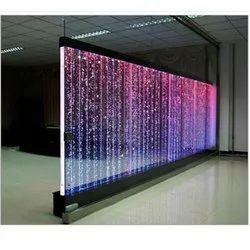 Glass Water Screen Fountain