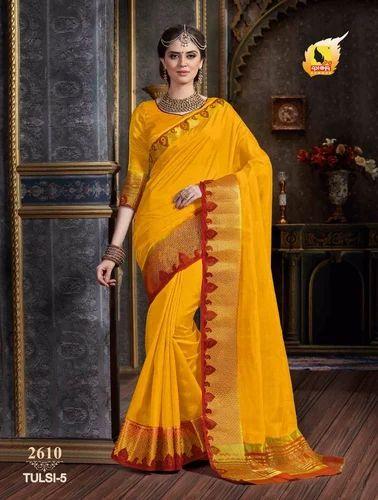ce09c0cfc7 Ashika Tulsi Tussar Silk Sarees at Rs 925 /piece | Tussar Silk ...