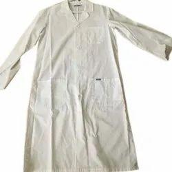 Cotton Plain Lab Coat, Handwash