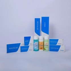 White Hotel Toiletry Kit, bio packing & box packing