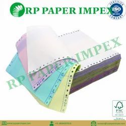 Computer Paper Form 50 - 200 GSM For Electricity Billing, Memos, Certificates