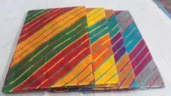 Pure Cotton Rainbow Leheriya Sarees