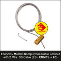 Economy Metallic Multi Purpose Cable Lockout