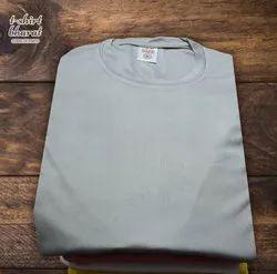 Generic Gray Polyester Sarina T-Shirt, Age Group: 10-70