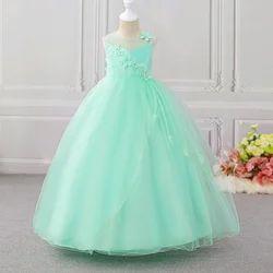 Adorable Green Applique Gown