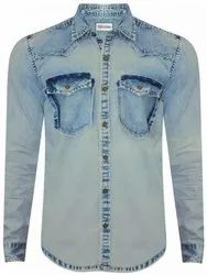 Men's Denim Casual Shirt