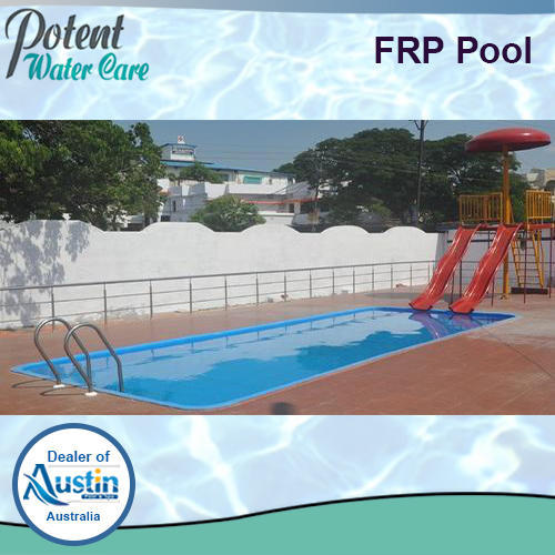 FRP Pool for Hotels, Height: 2.5 to 4.5 Feet