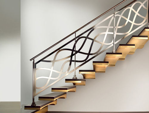 Panel Bar Stainless Steel Stair Handrail, Rs 1080 /square ...