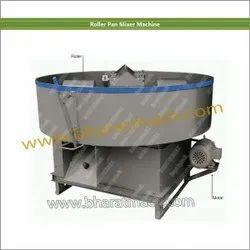 Ms Steel Roller Pan Mixer Machine