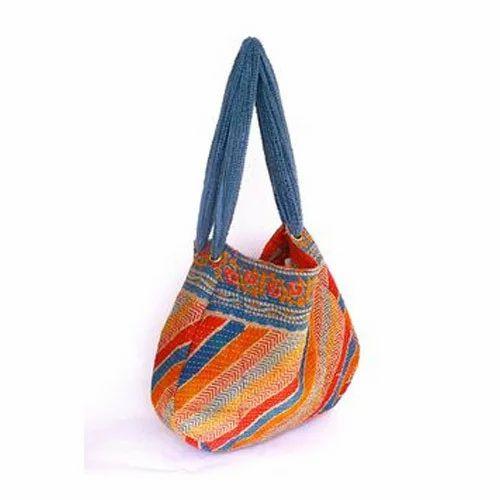Old Kantha Quilt Bag
