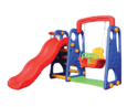 Plastic Toddler Swing & Slide For Garden