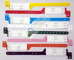 Origin Patient Wristband Plain Wristbands, Packaging Type: Box, Size: 7