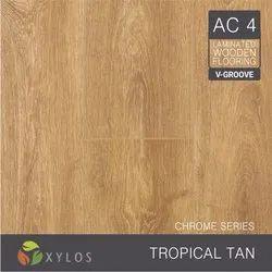 Tropical Tan Laminate Wooden Flooring