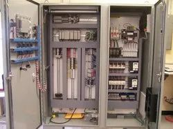 Mild Steel sheet Three Phase Industrial Electrical Control Panel, IP Rating: IP33