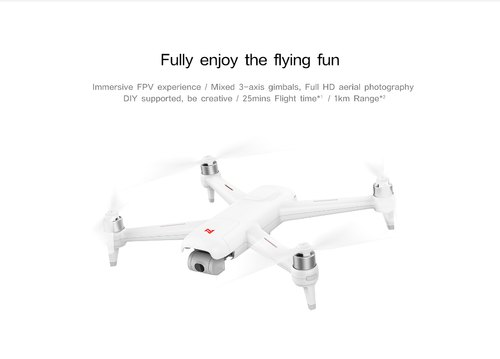 Xiaomi Fimi A3 5 8g 1km Fpv With 2 Axis Gimbal 1080p Camera Gps Rc Drone  Quadcopter Rtf 5 8g Fpv