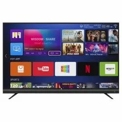 Black Smart LED TV