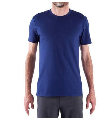 2e10a3243 Men Sport T-Shirts - Essential Athletee Cotton Fitness T-Shirt ...