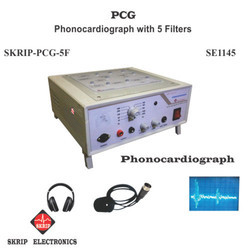 Phonocardiogram System, Model: SKRIP-PCG-5F