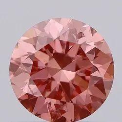 Pink Diamond 0.6ct  SI2  Lab Grown Fancy Color Stones