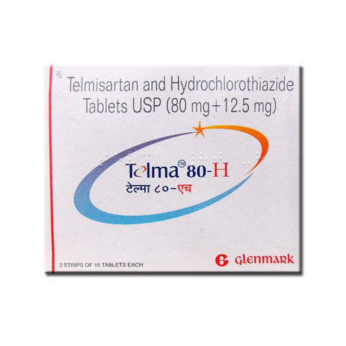 Hypertension High Blood Pressure Medicines - Telma 80 H Tablets Wholesale  Supplier from Nagpur